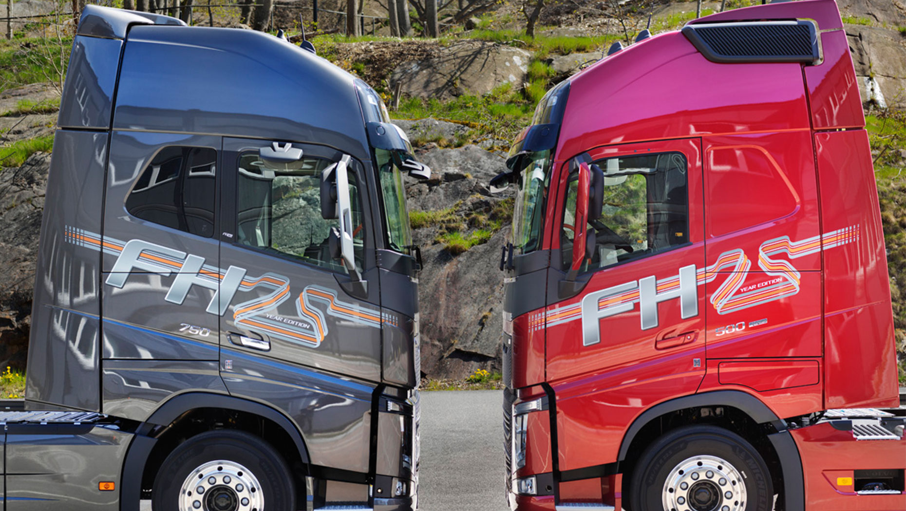Le Volvo FH 25 Year Special Edition