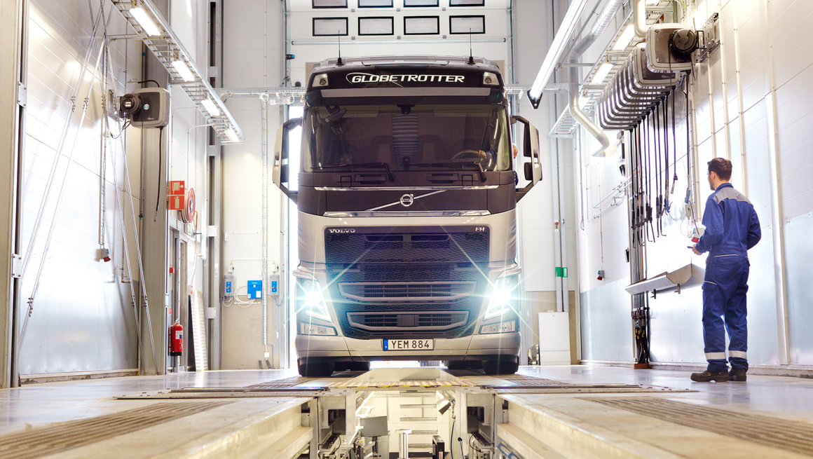 Apprentissage chez Volvo Trucks