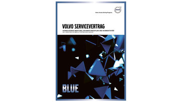 Volvo Servicevertrag Blue