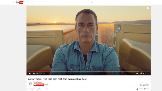 Volvo Trucks Videos auf YouTube