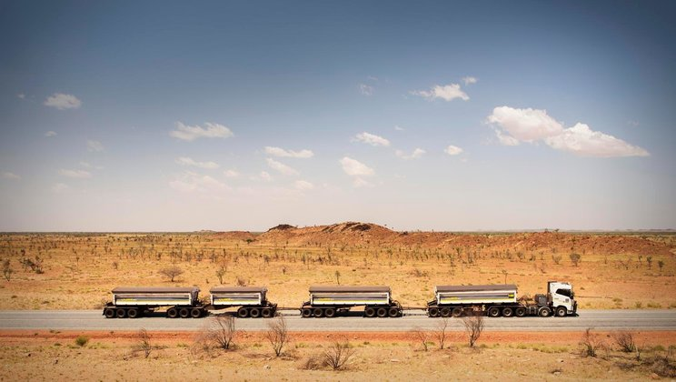 Driver's World: australisches Outback