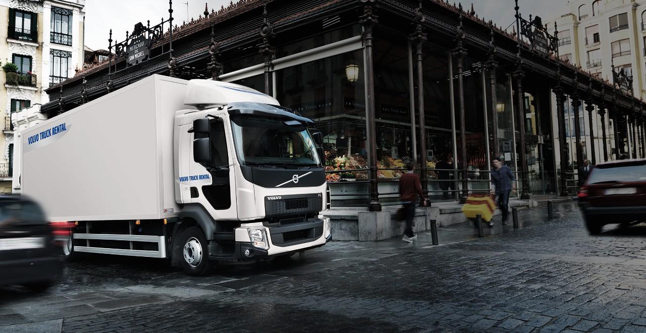 Volvo trucks rental town